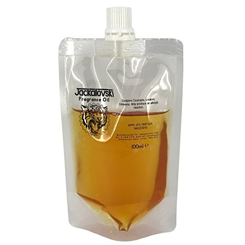 Emulsifiable Fragrance Oil, 100ml Commercial Pouch, (Amberwood Fragrance) ()