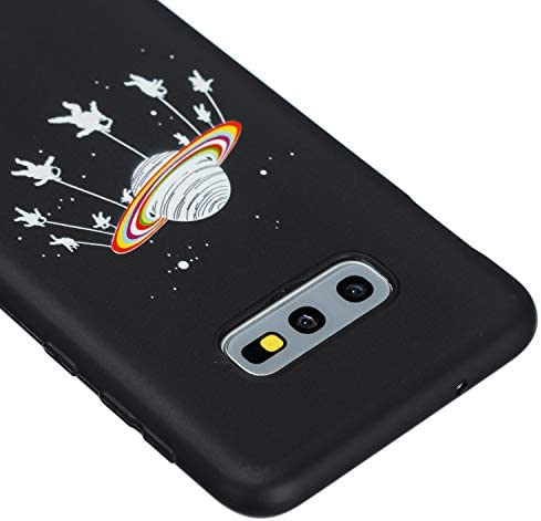 Docrax Galaxy S10e ケース 耐衝撃 シリコン 落下防止 ギャラクシーS10e ケース ソフト カバー 傷つき防止 - DOQXU020410 D3
