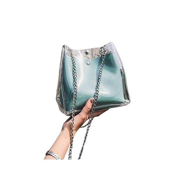 Transparent Purse Shoulder Bag