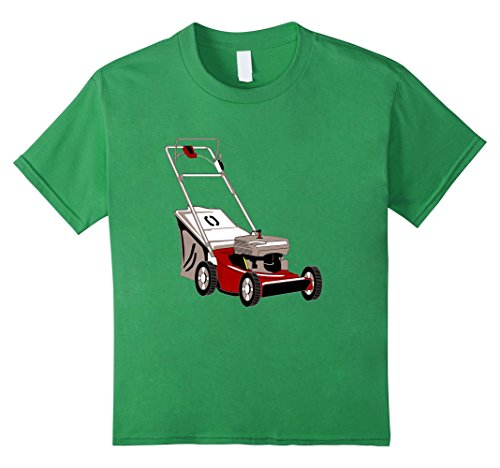 Price comparison product image Kids Lawn Mower t-shirt Landscape Job Mowing Business Dad 8 Grass