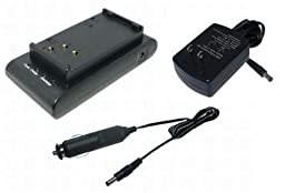 PowerSmart Battery Charger for Sony NP-33, NP-55, NP-55H, NP-66, NP-66H, NP-67, NP-68, NP-77, NP-77H, NP-77HD, NP-78, NP-98, NP-98D, NP-C65, Compatible Charger Part Numbers: AC-V16
