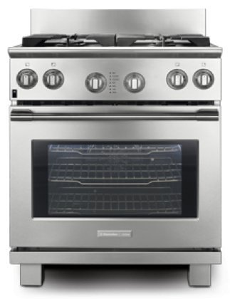 "Price comparison product image Electrolux Icon E30DF74GPS Professional 30"" Stainless Steel Dual Fuel Sealed Burner Range - Convection"
