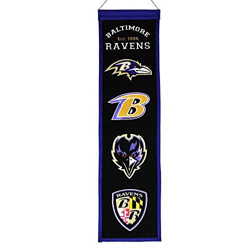 Baltimore Ravens Banner Fan (NFL Baltimore Ravens Fan Favorite Banner)