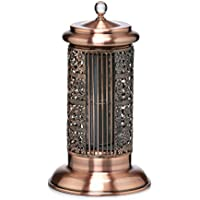 DecoBREEZE Tower Fan 2 Speed Tower Table Fan, 14 In, Antique Copper