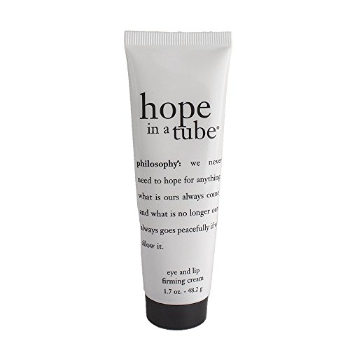 Philosophy Hope in a Tube Eye and Lip Firming Cream Tube, 0.5 Ounce