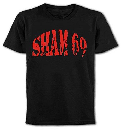Sham 69 T-Shirt - Punk Rock, New Wave, Oi, Skinhead (L)