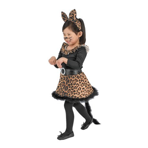 Black Leopard Cat Halloween Costume XS 12-24 MOS. ()