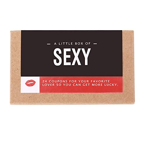 Sexy Coupons for Him: Adventurous, Romantic, Naughty and Fun Vouchers - for Him, Boyfriend or Husband | Present for Valentines/Anniversary/Birthday