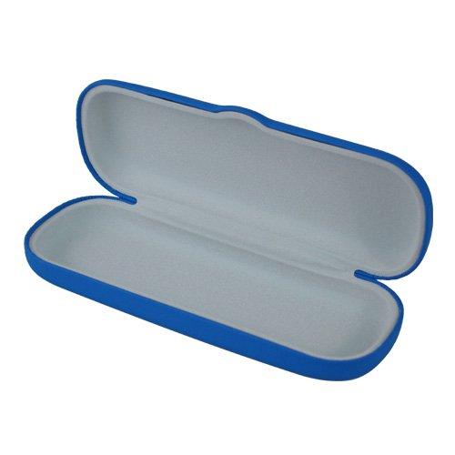 Perfect Eyeglasses Case | 100% Money Back Guarantee | For Men & Women | Smooth Finish | Hard | Small Medium Size | Club Blue |