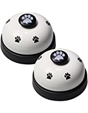 Pet Training Bells, VIMOV Set of 2 Dog Bells for Potty Training and Communication Device, White