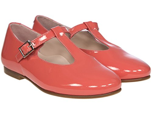 Coral Shoe Pink Girls Spain In Traditional Kids Bar Made T Panache XpzPvnqp