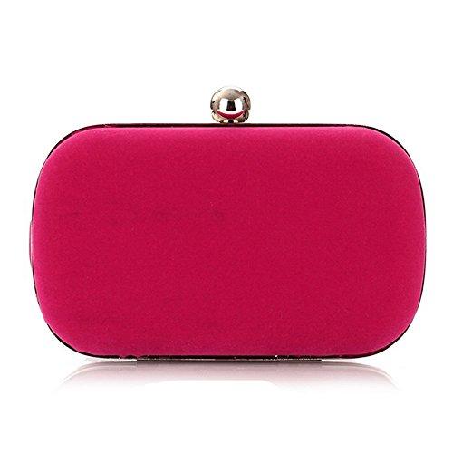 Eysee - Cartera de mano para mujer rojo rosa (b) 16cm*9cm*5.5cm rosa (b)