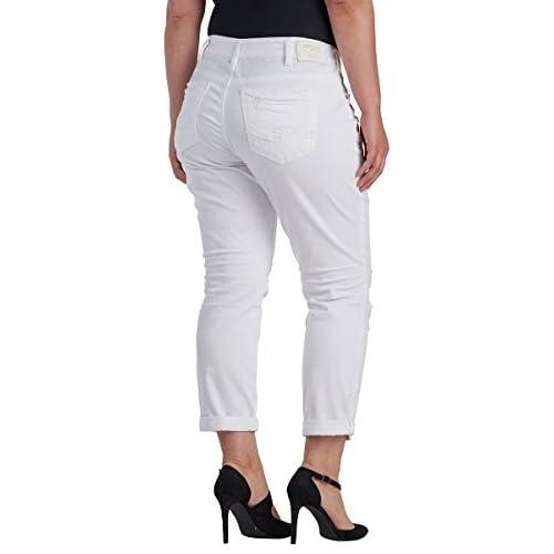 ef2f8104ac1 cheap Silver Jeans Women s Plus Size Sam Boyfriend-Fit Mid-Rise Slim ...