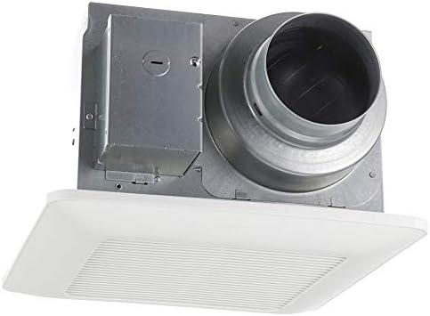 Panasonic FV-0511VQ1 WhisperCeiling DC Ventilation Fan, Speed Selector, SmartFlow Technology, Quiet,White