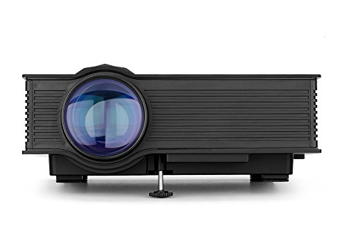 Generic UNIC UC46 Portable Projector - LCD + LED, 800x480, 1200 Lumens, Miracast, DLNA, Airplay, SD Card, HDMI by Generic