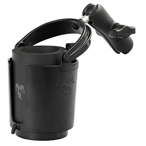 (RAM MOUNTS (RAP-B-132B-201U Drink Cup Holder with Arm)