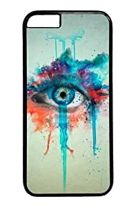 CGI eyes manipulation PC Case Cover for iphone 6 4.7 inch Black