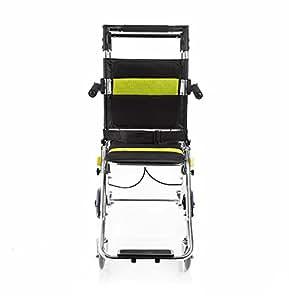 G m silla de ruedas port til de aluminio de aleaci n de - Silla de ruedas de transferencia plegable y portatil ...