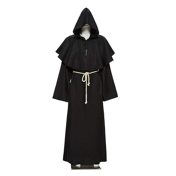 Amazon.com: QZ Halloween Cosplay Ancient Costume Medieval ...