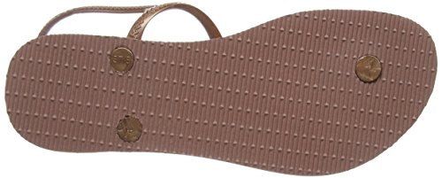Strap Havaianas Freedom Crocus Sandals Rose Women's Ankle Maxi wOTOxWUq8
