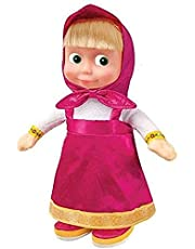 Russian Toy Cartoon Character Masha and the Bear soft stuffed toy