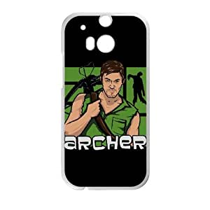 Archer HTC One M8 Cell Phone Case White KT9433669