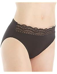 Women's No Pinching No Problem Microfiber Hicut Panty
