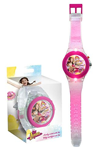 Image Unavailable. Image not available for. Color: Disney Soy Luna Digital LED Lights Watch Reloj JAV