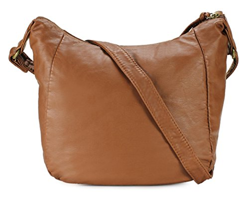 Bag Tri Trendy Crossbody Pocket H1969 Scarleton Brown Iqad51Hqx