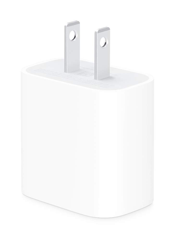Apple 18W USB-C Power Adapter (MU7T2LL/A) by Apple