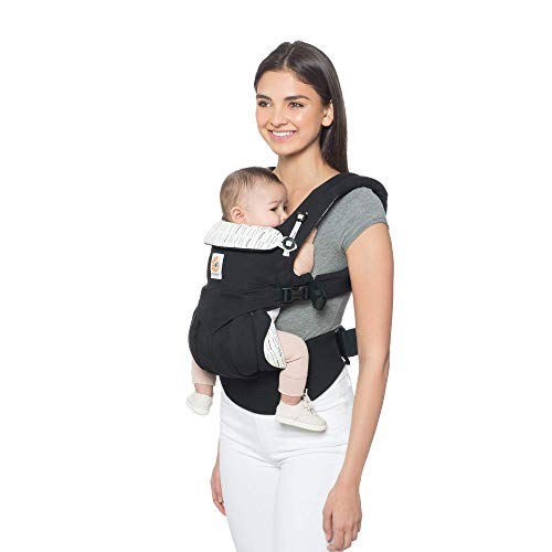 Ergobaby Carrier, Omni 360 All Carry Positions Baby Carrier, Downtown