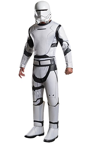 Star Wars The Force Awakens Deluxe Adult Flametrooper (Clone Trooper Costumes Adult)