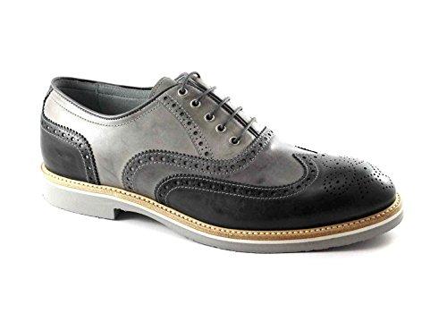 NEGRO JARDINES 4842 zapatos de los deportes de los hombres elegantes zapatos gruesos grises Grigio