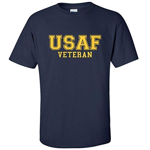 USAF Veteran GOLD Logo Athletic Short Sleeve T-Shirt