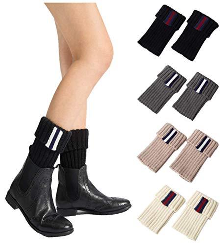 VIGVOG Women's Boho Warm Knitted Boot Cuffs Leg Warmers (One size, Z-Stye ()