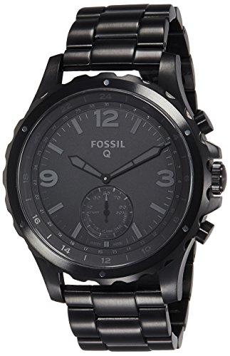 Fossil Hybrid Black Stainless Smartwatch product image