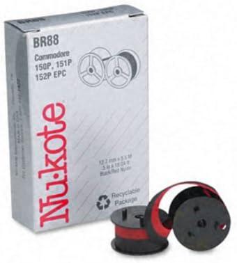 Black//Red Nu-kote Model BR88 Nylon Ribbon