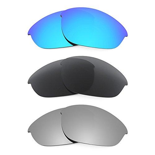 Revant Replacement Lenses for Oakley Half Jacket 3 Pair C...