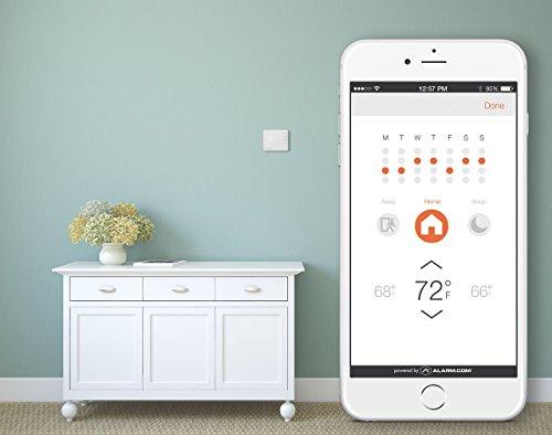 41LANwOBFTL - Alarm.com Smart Thermostat