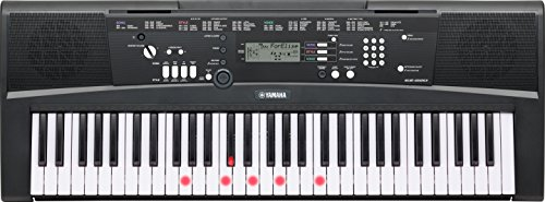 Yamaha EZ-220 Portable Keyboard with Lighted Keys (power adapter sold separately)