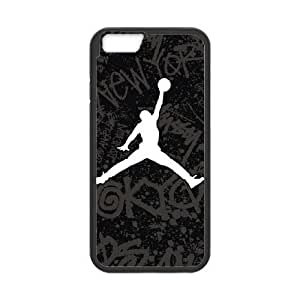 iPhone 6 Plus 5.5 Inch phone case Black Jordan logo KKUP1763796
