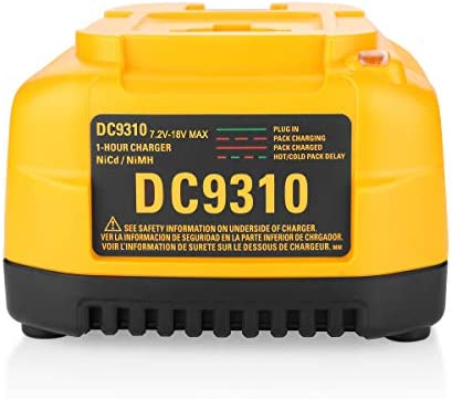 Energup DC9310 Fast Battery Charger for Dewalt 7.2V-18V XRP NI-CD NI-MH Battery DC9096 DC9098 DC9099 DC9091 DC9071 DE9057 DW9096 DW9094 DW9072