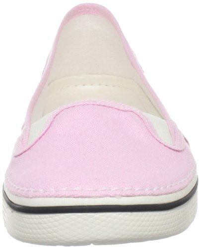 Crocs Womens Hover Toile Sneaker Bubblegum / Oyster