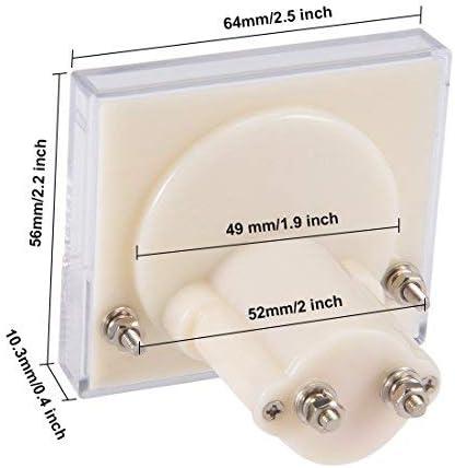85C1-A Analog current panel meter DC 50A Ammeter for circuit test Ammeter Tester Gauge 1 PCS