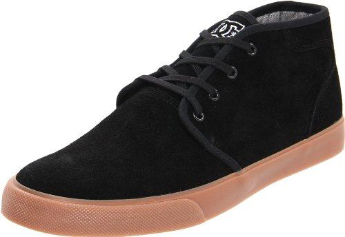 Dc Heren Studio Mid Lace-up Mode Sneaker Zwart / Gom