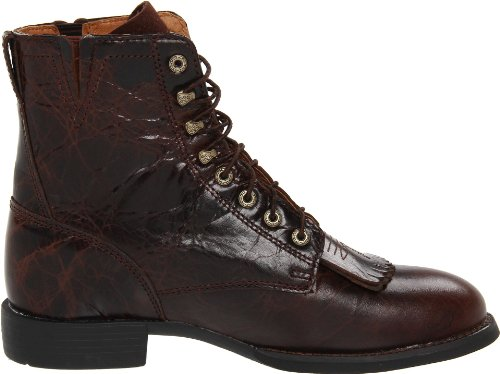 Chip II Women's Lacer Heritage Cowboy Chocolate Boot Ariat Western AvnB8wx
