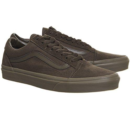 Suede Sneaker Gum Vans Earth Unisex Classic Dark Canvas Adulto Old Skool ZXxnFtC