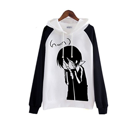 Cosplay Noragami Long Sleeves Hoodie Coat Cute Cartoon Cotton Men s Women s  Hoodie Uniform  ab4724fdf2