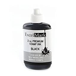 ExcelMark Premium Stamp Ink, 2 oz