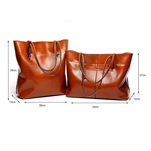 Bag Women Bags Handbags Leather Red Shoulder Fashion SwSpqx1F
